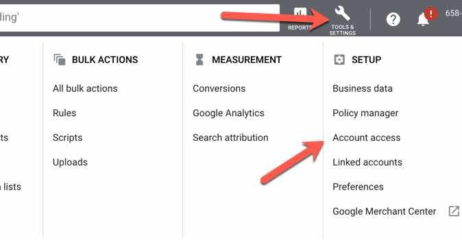 adding GMM to Google Ads